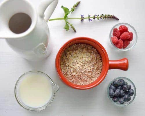 Ingredients of Overnight Oats