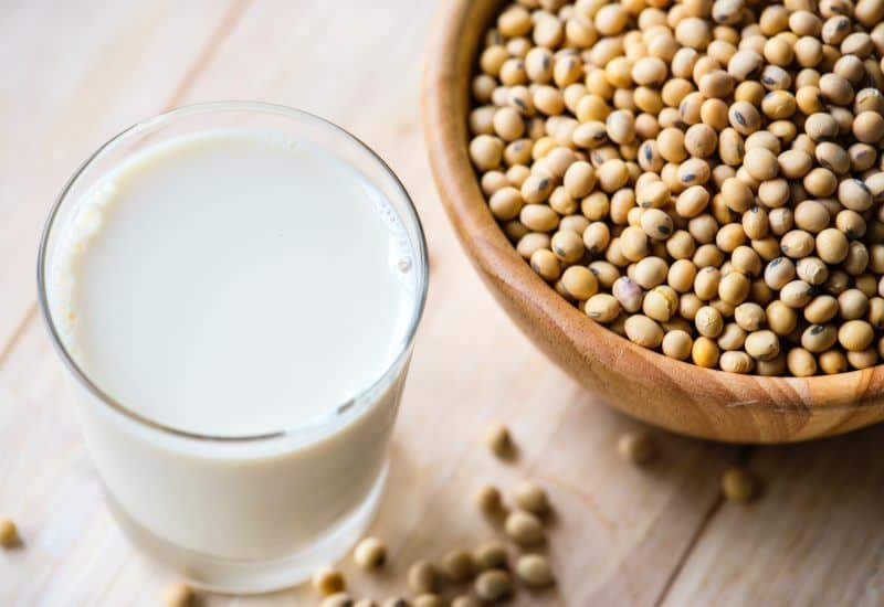 Milk and Soy Beans