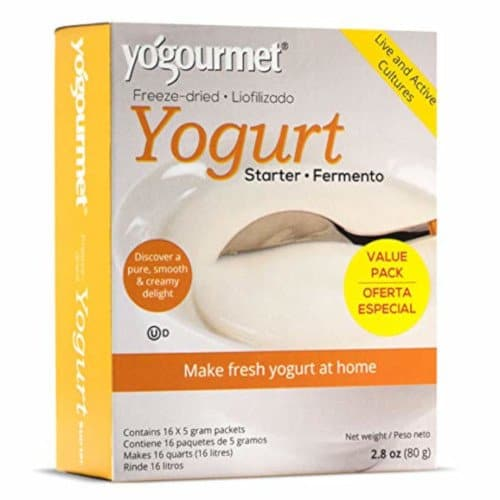 Yogourmet 16 Pack Freeze Dried Yogurt Starter Value Pack